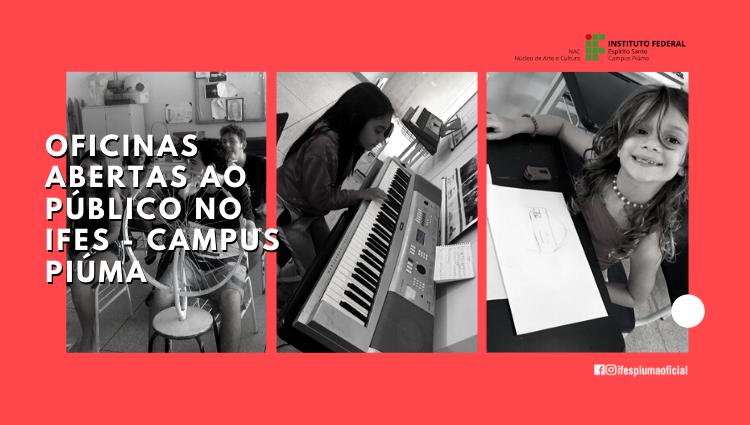O Núcleo de Arte e Cultura do Campus Piúma inicia as atividades de 2020